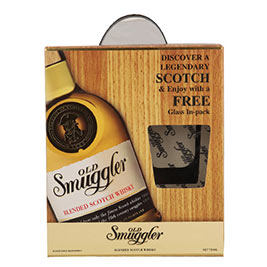 Old Smuggler shelf ready packs