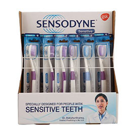 Sensodyne shelf ready packs