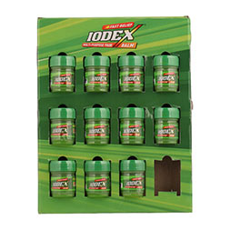 Iodex shelf ready packs